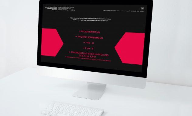 Monitor schwarz rot