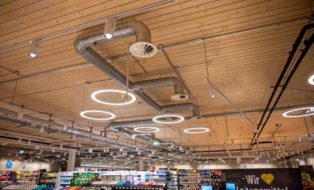 Decke Supermarkt