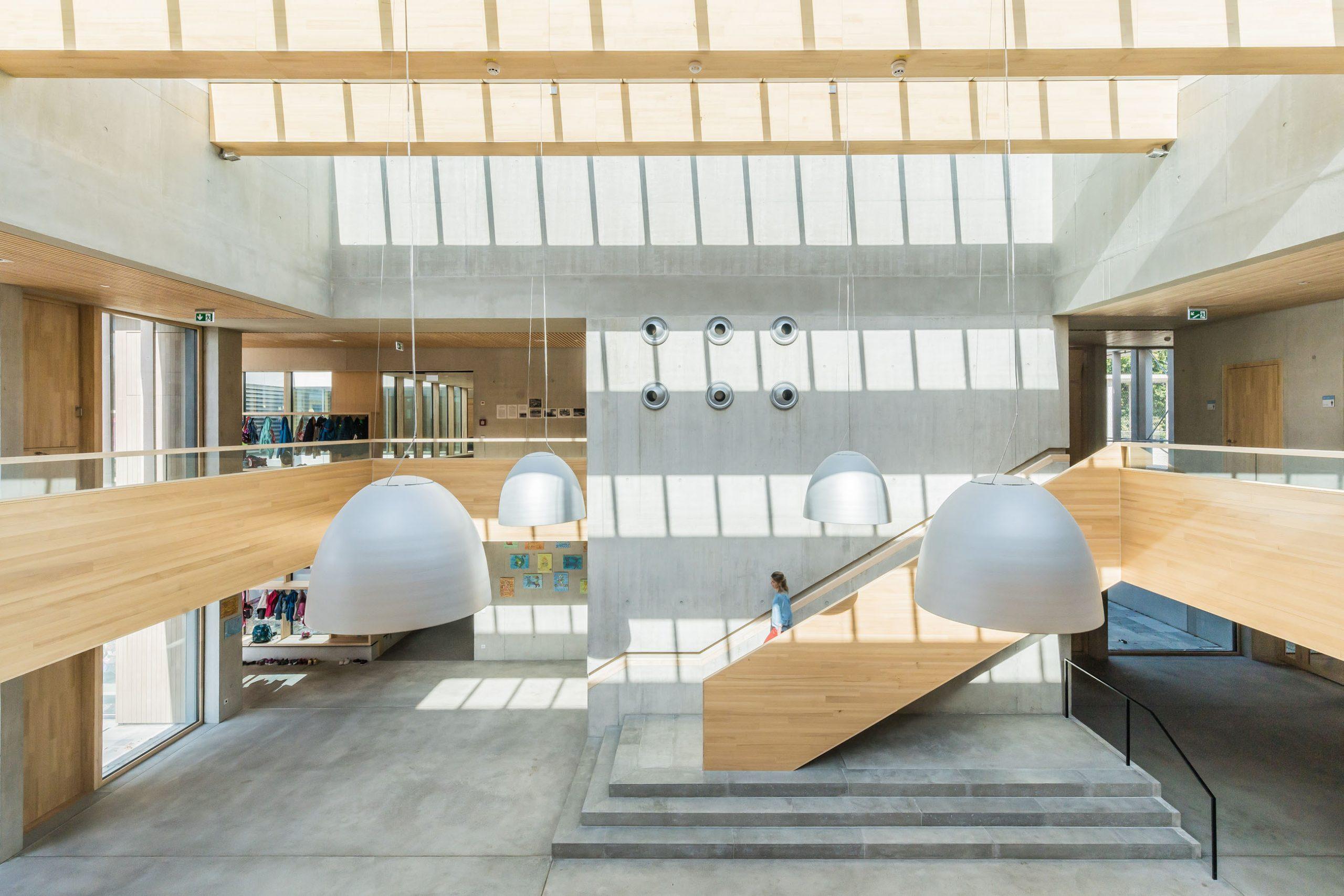 Atrium Schule