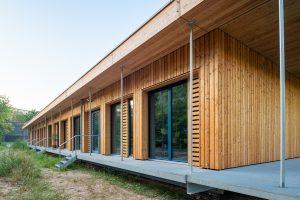 """Holzmodulbau für das """"Fliegende Klassenzimmer"""""""