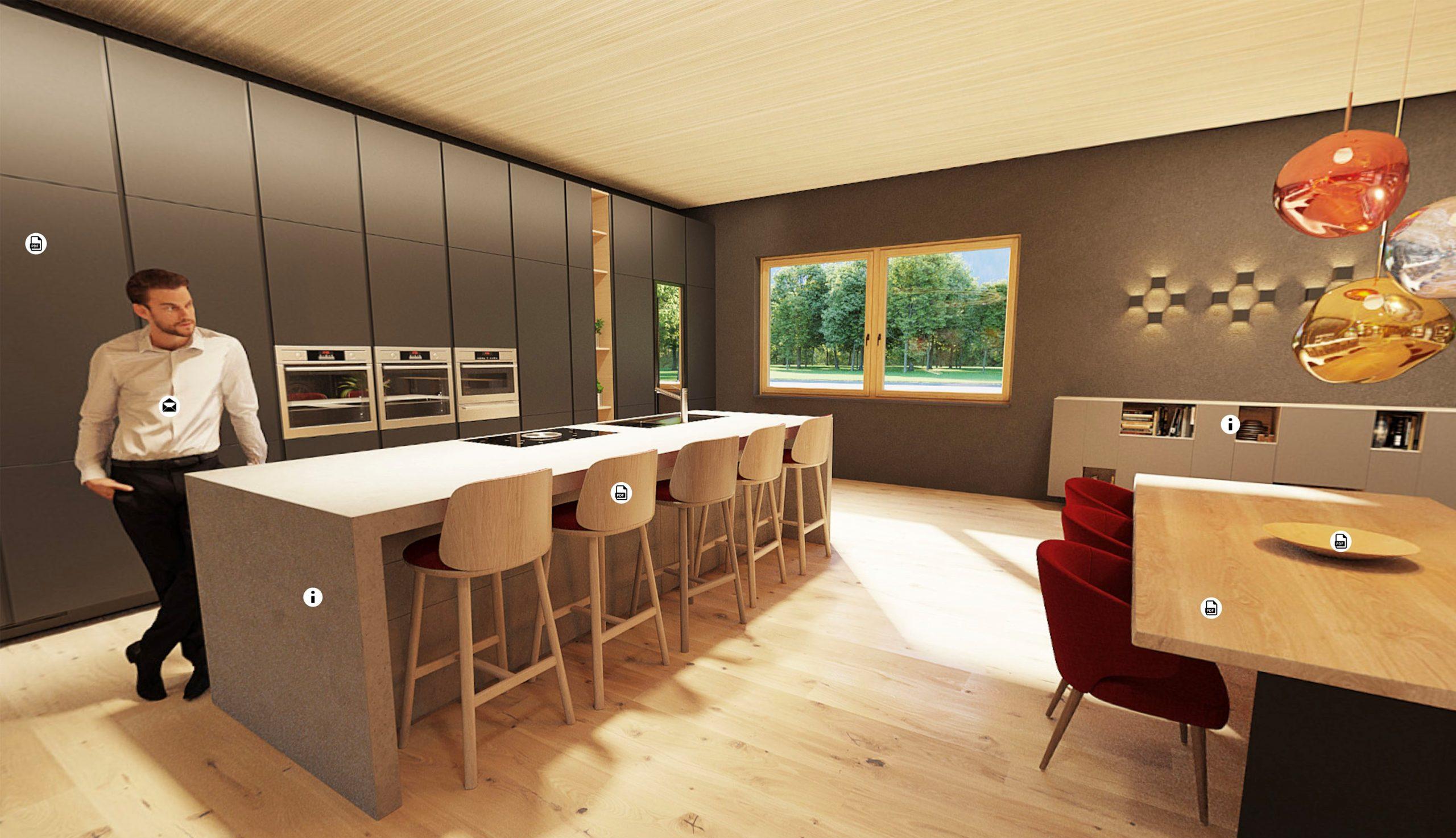 Virtuelle Küche