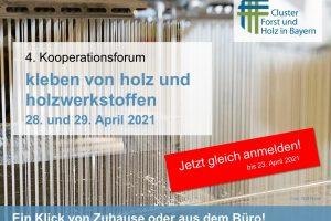 Flyer Kooperationsforum