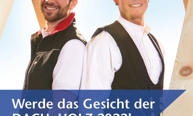 Poster Dach+Holz