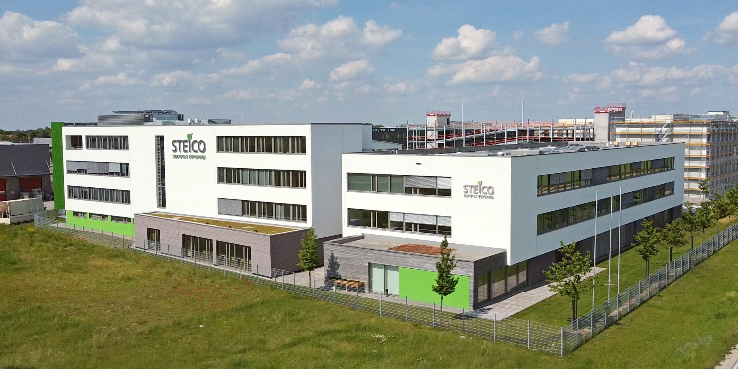 Firmengebäude Steico