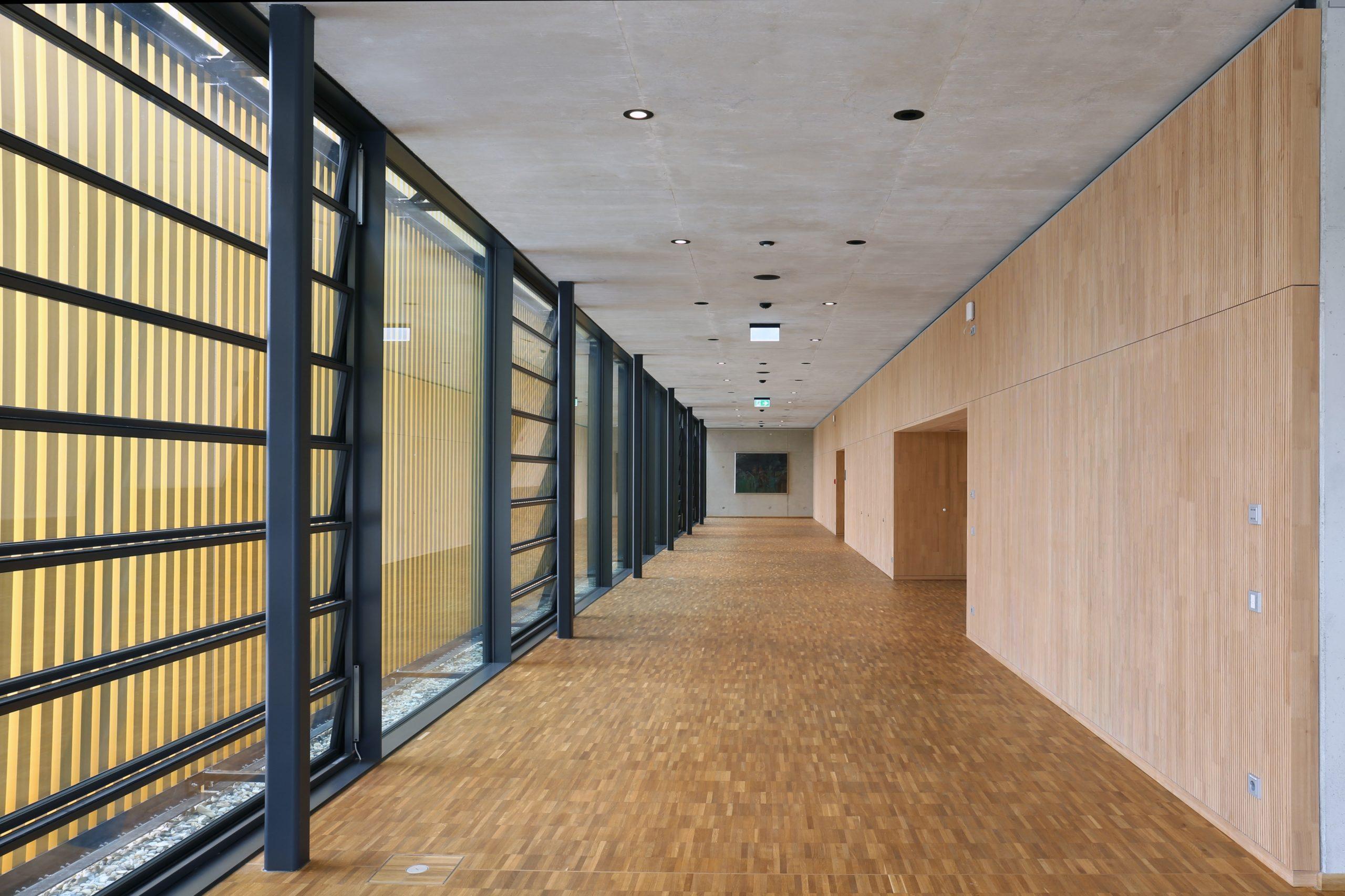 Akustikpaneel Lignotrend Stadthalle Cham