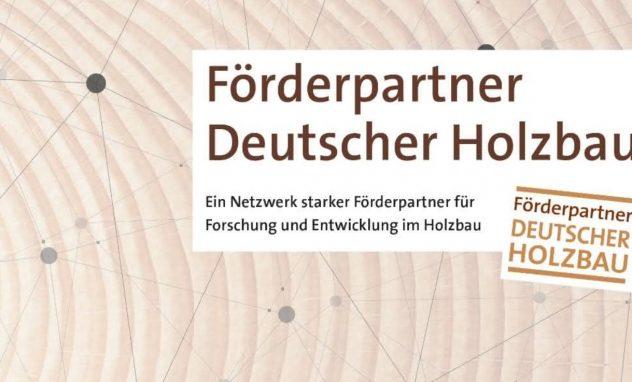 Logo Förderpartner Deutscher Holzbau