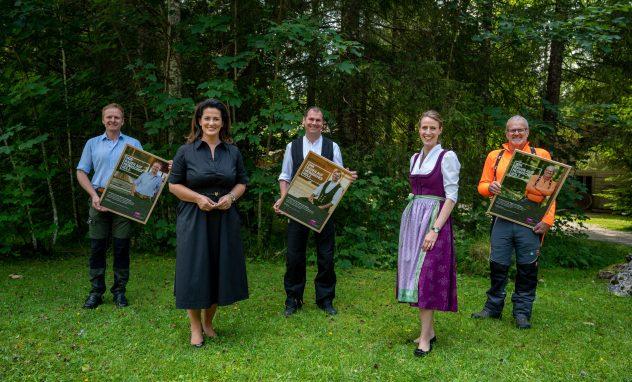 Kampagne proHolz Bayern Wir bauen auf heimisches Holz