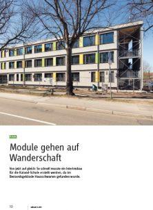 Modulbau: Kaland-Schule in Lübeck