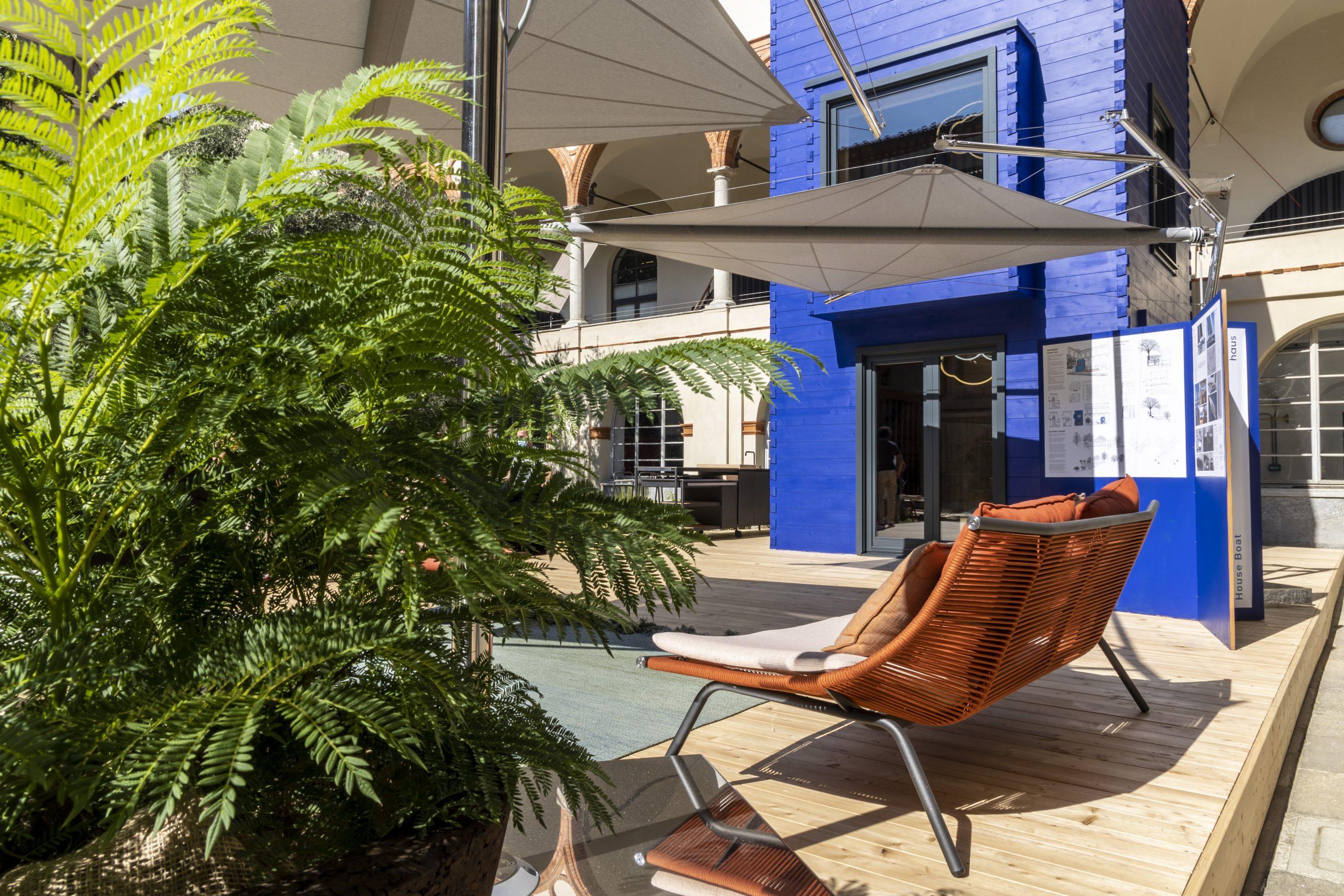 Rubner Haus Hausboot Milano Design Week