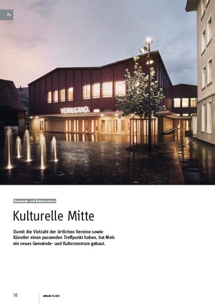 """Gemeinde- und Kulturzentrum """"Verrucano"""""""